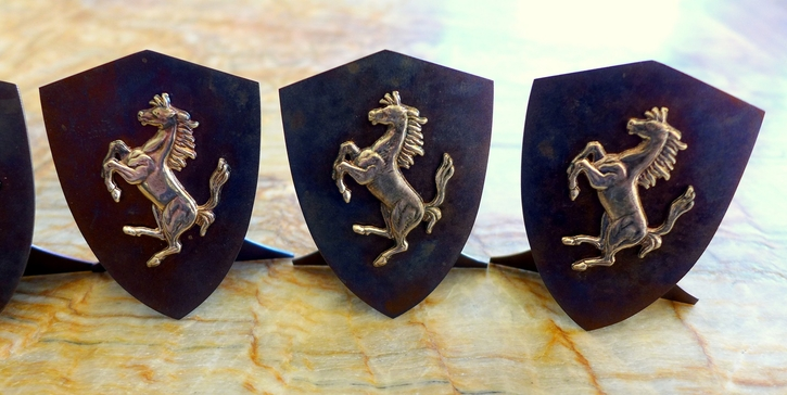 Prancing Horse card holders