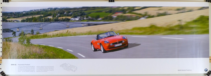 BMW Z8 Factory mobile tradition