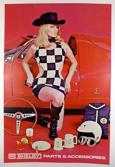 Shelby Parts & Accessories original vintage advertising poster